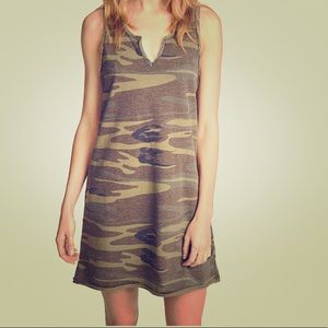 Z Supply camo cotton dress